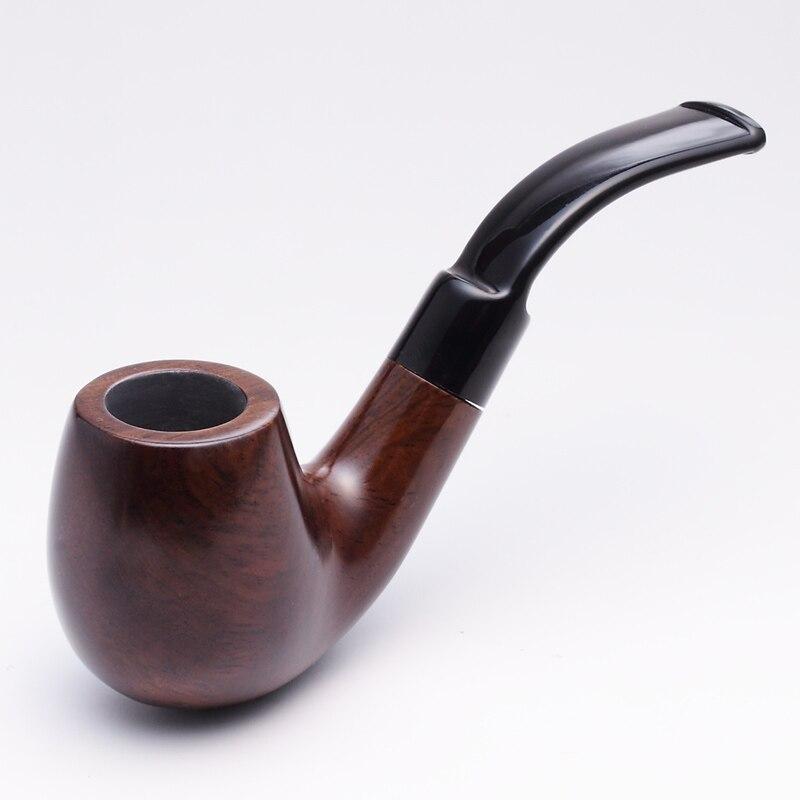 2019 NOUVEAU ADOUS 628 9mm bois ébène Gentlemens Cigare Fumer pipe - Marchandises pour la maison