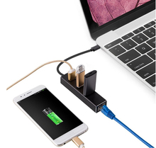 three Ports USB three.zero HUB Kind C to Gigabit Ethernet LAN RJ45 Adapter Excessive Velocity Knowledge Switch Wired Community Card For Macbook 12 inch