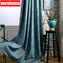 Cotton Blackout Curtains for Living Room Bedroom Window Fabric Drapes Blind Custom curtain