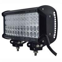 4 שורות 144 W רכב LED בר אור 12240LM סיטונאי LED סין גואנגזו אביזרי חלקי רכב המכונית אור OFFROAD עבודה אור SUV