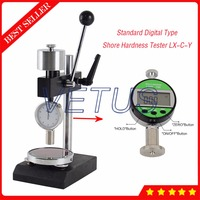 LAC-YJ Hardness Test Stand for A/C Type Shore Hardness Tester Station included LX-C-Y Digital Sclerometer Shore C Durometer
