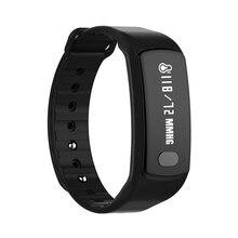 Bluetooth Smart Браслет монитор сердечного ритма шагомер вызова сообщение напоминание фитнес-трекер для Android IOS