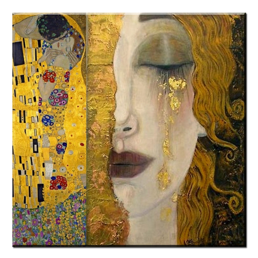 Buy xdr185 golden tears gustav klimt for Gustav klimt original paintings for sale