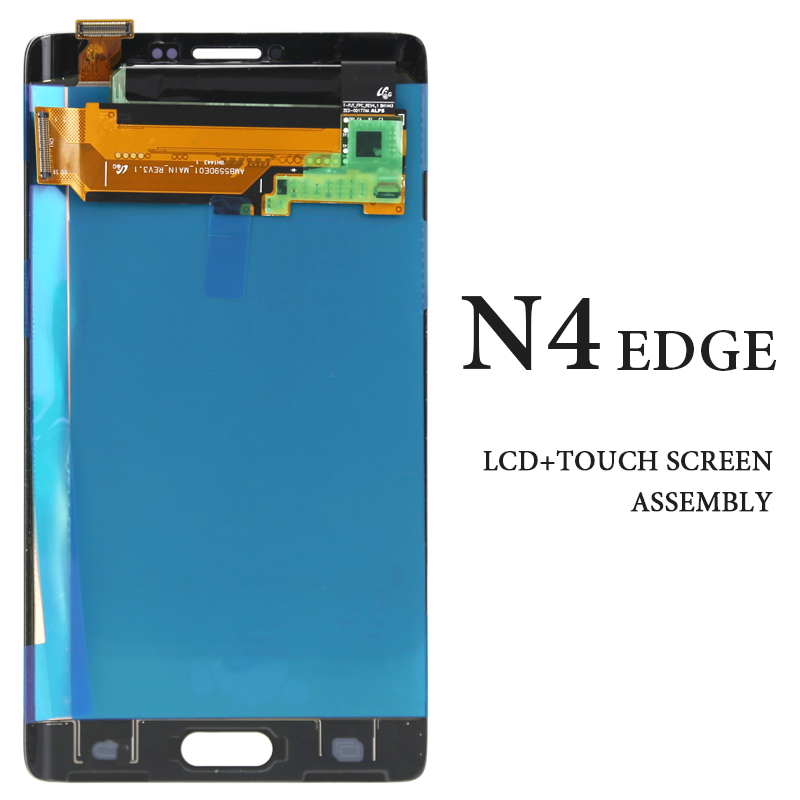 For Samsung Note 4 Edge LCD 5.6AMOLED N9150 N915F N915 Gray White Digitizer Display No Dead Pixel Replacement Spare Parts For Samsung Note 4 Edge LCD 5.6AMOLED N9150 N915F N915 Gray White Digitizer Display No Dead Pixel Replacement Spare Parts