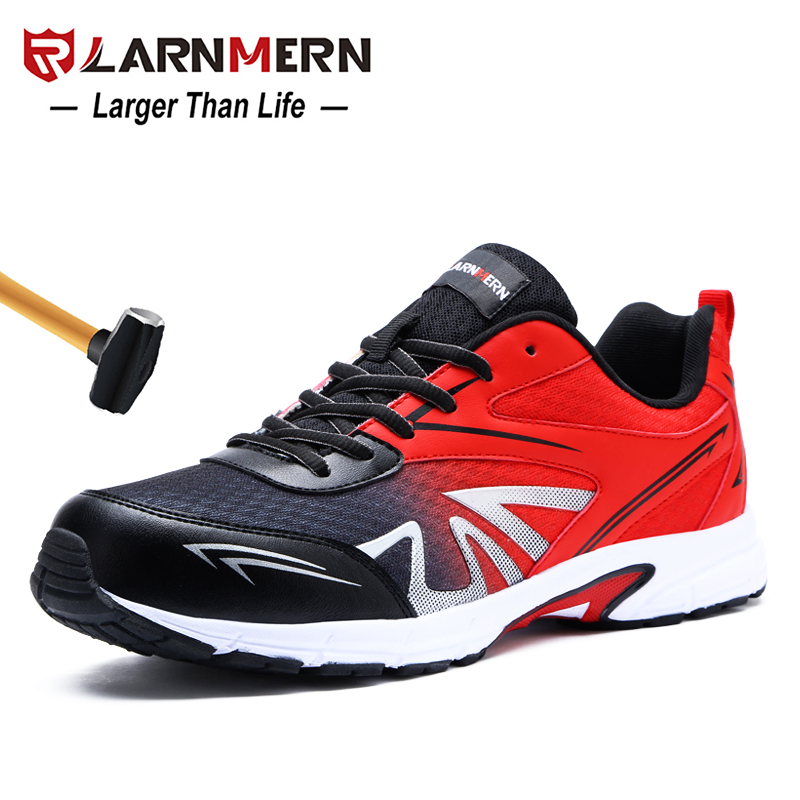 Larnmern Mens Steel Toe Safety Work Shoes Lightweight Breathable Anti-smashing Non-slip Construction Protective Footwear Back To Search Resultsshoes Work & Safety Boots