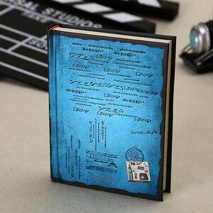Image 2 - Винтажный блокнот в твердом переплете, бумажный личный дневник, дневник, планер, ретро подарки, канцелярские принадлежности, Офисная школа