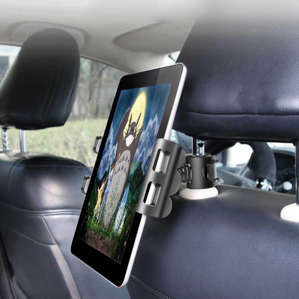 Suporte do Telefone do carro Universal Tablet Suporte Do Computador Cadeira Para Trás Suporte Ipad IPAD Suporte Placa acessórios Do Carro