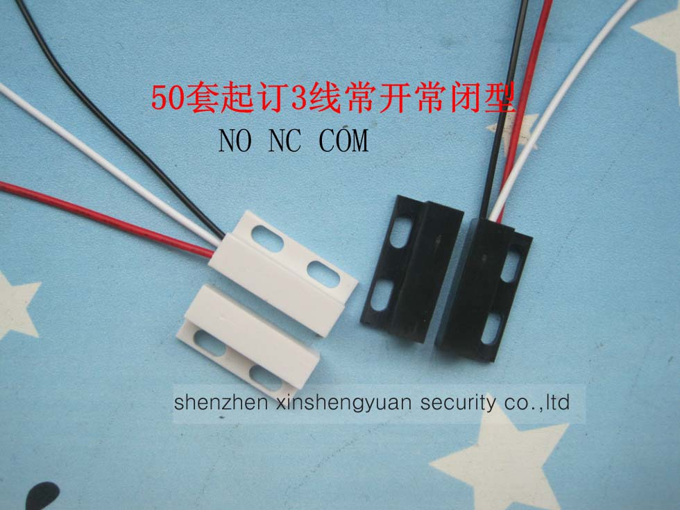 NC & NO Surface-mounted Magnetic Gap Switch For Door And Window Sensor