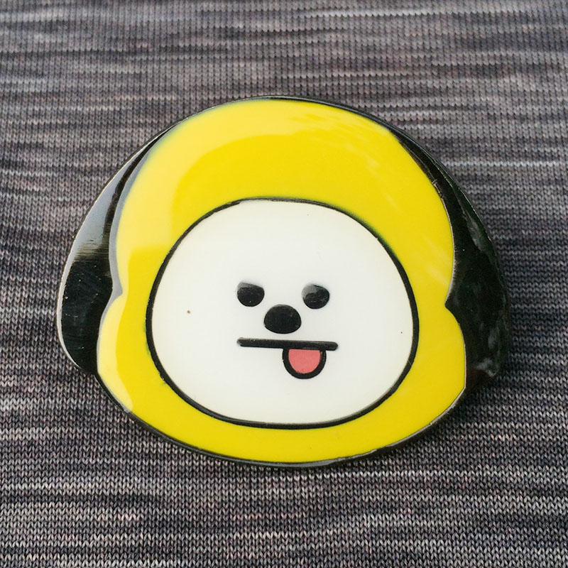 COOKY Cartoon Brooch Pin Metal badge Hat Clothes Fashion Accessories Boys Girls Gift 1pc