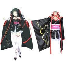 Trajes de cosplay de anime japonés Unbreakable Machine-Doll Yaya