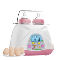Baby Feeding Sterilizer Bottle Heater Warmer Baby Nursing Milk Bottle Warm Double Bottle Sterilizer 220V Electric Warm Milk Food
