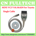 Mais recente V10.30.029 MINI VCI Interface PARA TOYOTA TIS Techstream MINI-VCI J2534 OBD2 Diagnostic Cable Frete Grátis