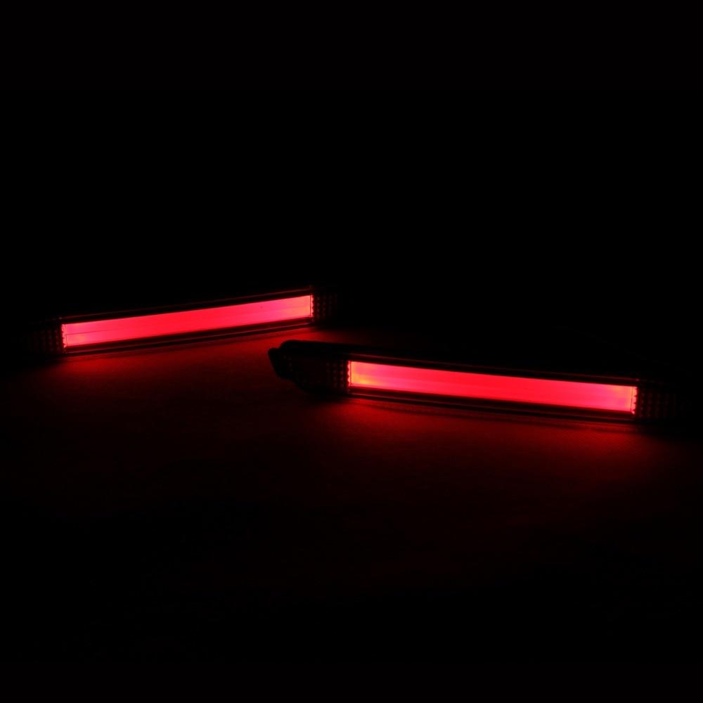 Задний Bunper предупреждение автомобиль светодиодные фонари стоп-сигнал лампа для Тойота Камри 2007-2012 / Реиз 2010-12 / Сиенна 2013 (одна пара)
