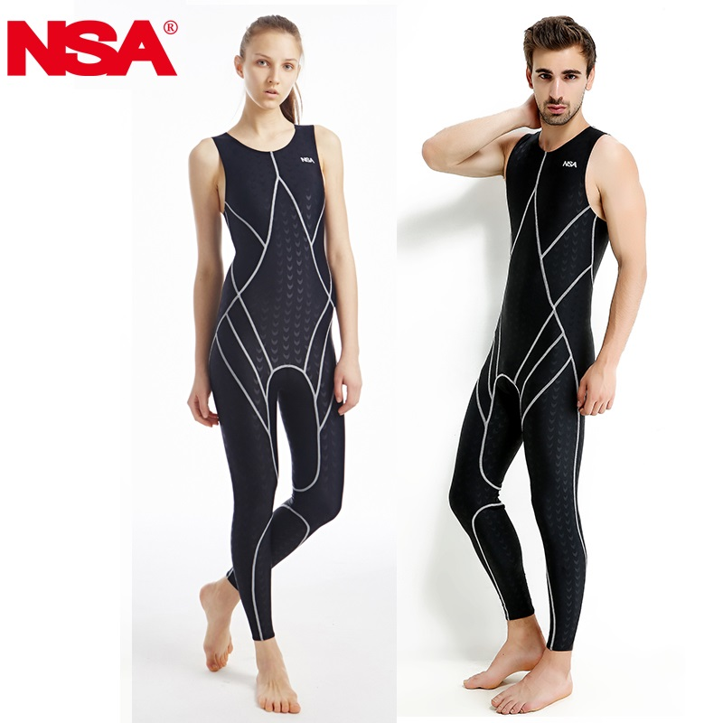 NSA Racing Swimsuit Women Swimwear One Piece Competition Swimsuits Competitive Swimming Suit For Women Swimwear Sharkskin Arena(China)