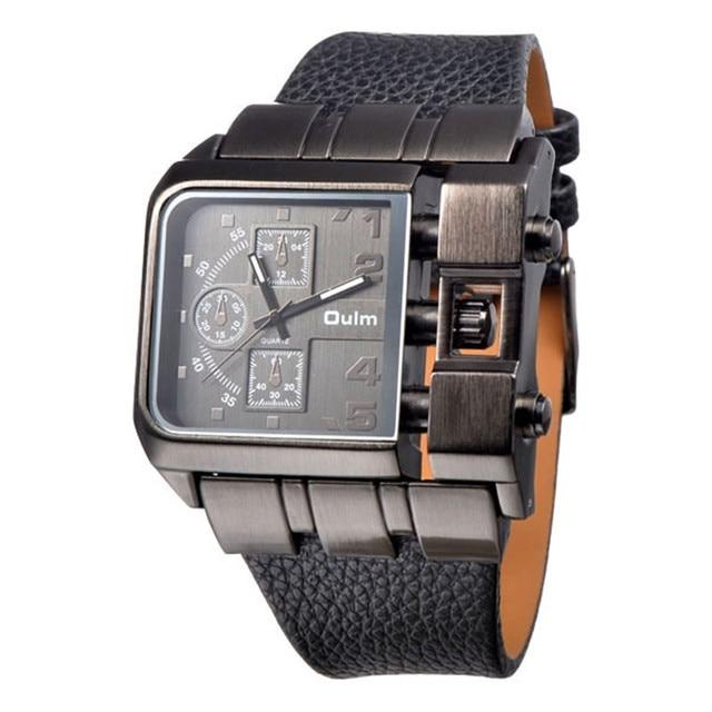 1f0e4b2c1ef 1 pçs lote Mens Relógios Militares OULM 3364 Marca Designer Erkek Saat  Montre Homme Relogio