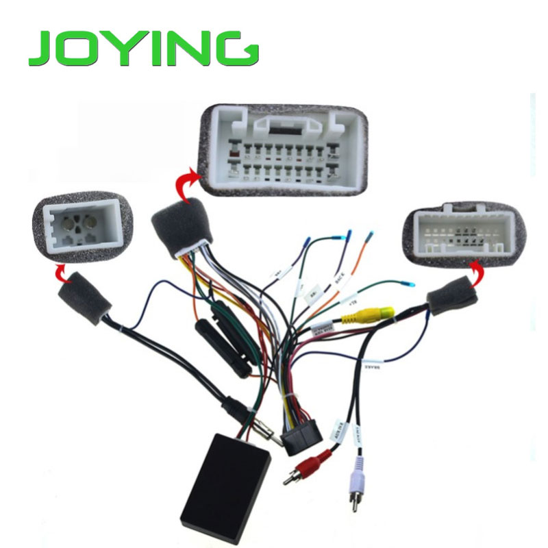 Harness Wiring Cable for Toyota Prado only fit Joying unit special wiring harness for toyota prado iso harness car radio power adaptor power cable radio plug