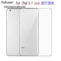 soft tpu Case for new ipad 9.7 inches 2017 2018 soft TPU transparent protective case for iPad 9.7 inches A1822 A1823 A1893 A1954 (1)