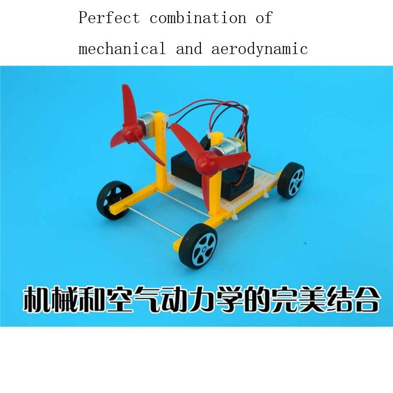Us 1799 Cool Technologie Zu Machen Wind Auto Diy Spielzeug Educational Montage Elektrische Spielzeug Auto Manuelle Modell In Cool Technologie Zu