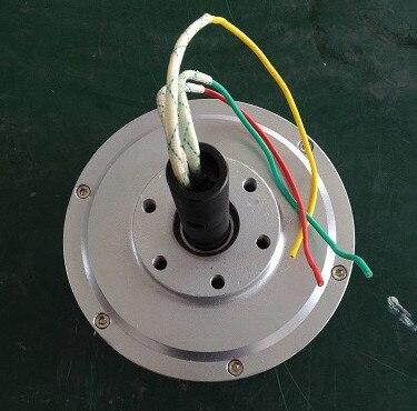 PMG165 150 w 500 RPM sans noyau PMG générateur/vent alternateur générateur de Rotor externe, alternateur à aimant Permanent triphasé