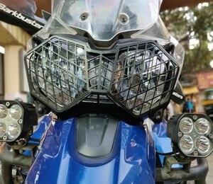 Image 5 - دراجة نارية المصباح المصابيح المصبغة غطاء واقية الحرس للانتصار النمر 800 2010 2017 و Explorer 1200 12 17