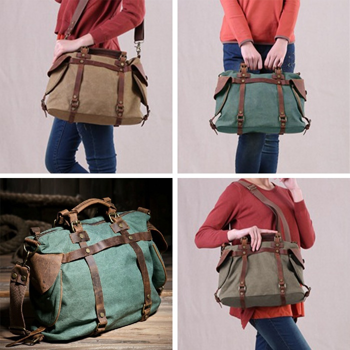 Aliexpress.com : Buy Fashion 2014 Women Vintage Retro Canvas crazy ...
