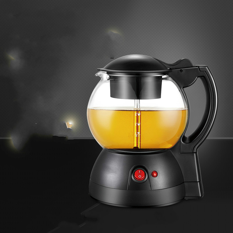 Black tea brewed ware fully automatic glass insulated steam electric kettle Safety Auto-Off Function glass electric kettle boiling tea ware fully automatic health raising pot art furnace safety auto off function