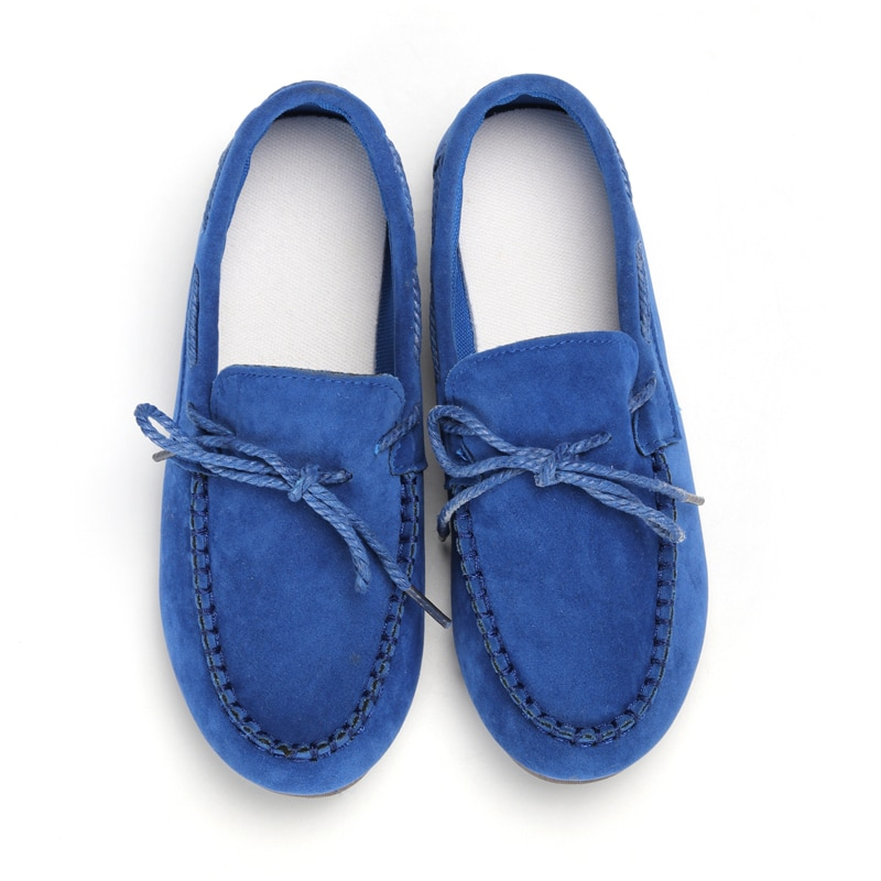 Moccasin womens four colors autumn soft brand top quality fashion suede casual loafers #WX810401 71