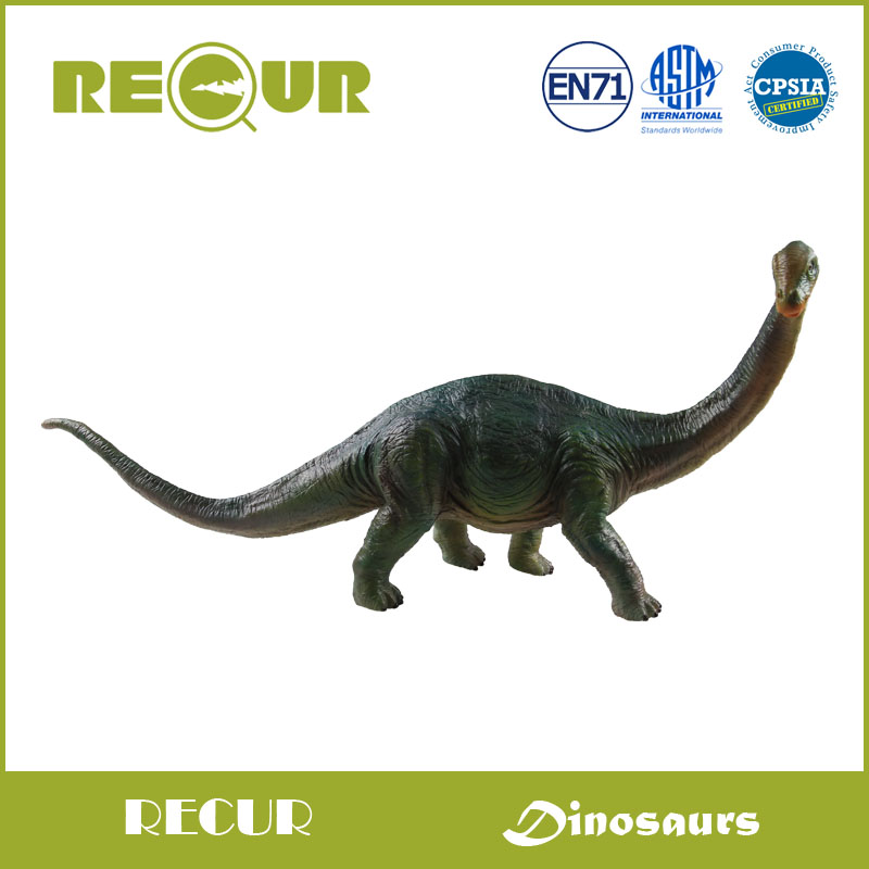 где купить  Recur Toys Original Design Apatosaurus High Detail Hand Painted Soft PVC Dinosaur Collection Animal Model  Action & Toys Figures  по лучшей цене