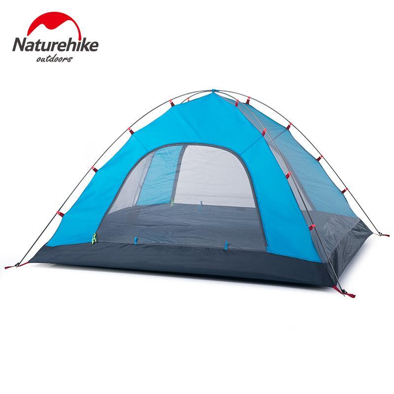 Naturehike 2 šator za kampiranje 3 osobe za rekreaciju na otvorenom - Kampiranje i planinarenje - Foto 4