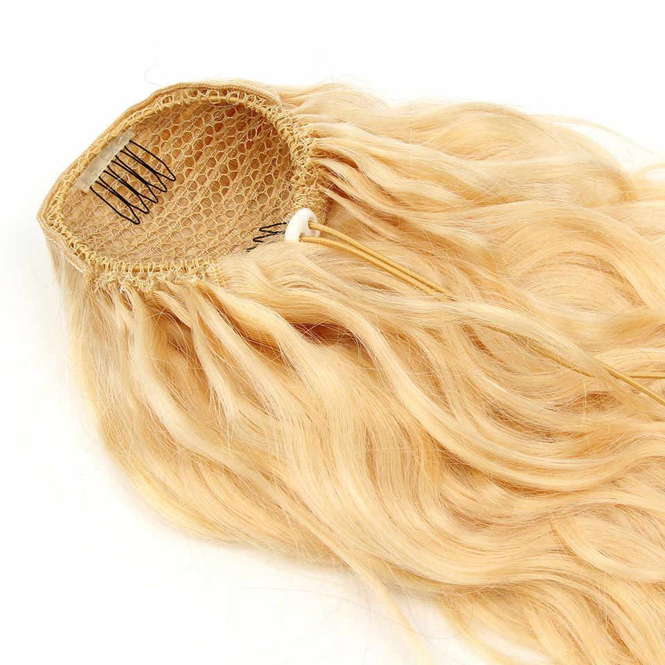 Yvonne волнистые человеческие волосы на заколках для наращивания, бразильские волосы, 613 блонд, 1 шт.