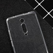 Cases for Redmi k20 Case Thin Silicone Protector Transparent Clear Cover Pro Xiaomi k20,Redmi pro