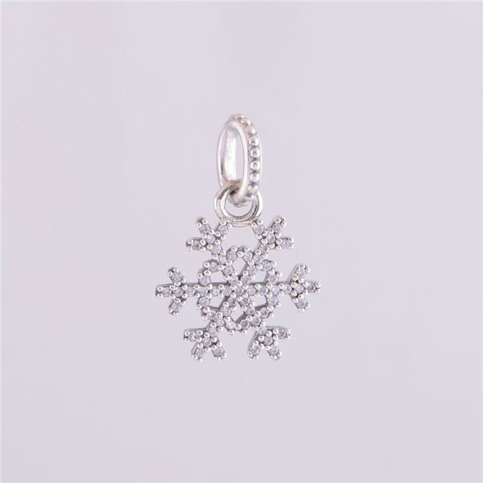 pandora charm fiocco di neve