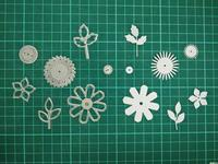 Floral Metal Die Cutting Scrapbooking Embossing Dies Cut Stencils Decorative Cards DIY Album Card Paper Card