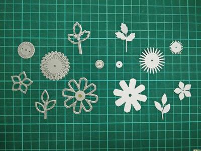 Floral Metal Die Cutting Scrapbooking Embossing Dies Cut Stencils Decorative Cards DIY album Card Paper Card Maker snowflake hollow box metal die cutting scrapbooking embossing dies cut stencils decorative cards diy album card paper card maker