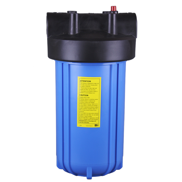 Big Blue Water Filter Housing 10 with Pressure Relief for Water Purifier 10 white standard water filter housing for water purifier jsq 6