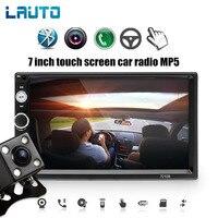 LAUTO 2 Din Car Radio 7010B Autoradio 2 din Bluetooth 7 inch Touch Screen Mp5 USB/FM/AUX/SD 2din Radio Car Coche Recorder