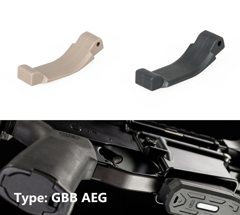 Trigger Guard för AR15 / M16 Tactical Accessory Black Tan färg för GBB / AEG typ gs33-0185
