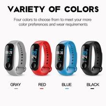 New Smart wristband sport waterproof bracelet heart rate blood pressure oxygen health monitoring data record Child adult