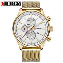 CURREN Men's Watches Fashion&Casual Full  Sports Watches Relogio Masculino Men's Business relojes Quartz watch 8227