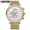 Curren homens relógios fashion & casual completa sports relógios relogio masculino relojes relógio de quartzo dos homens de negócios 8227