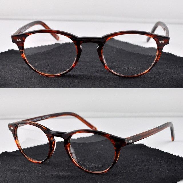 oliver oliver peoples riley k small vintage eyeglasses