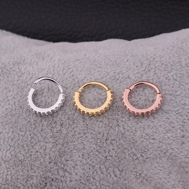 Πωλήσεις 1PC Ασημένιο και χρυσό χρώμα CZ - Κοσμήματα μόδας - Φωτογραφία 3