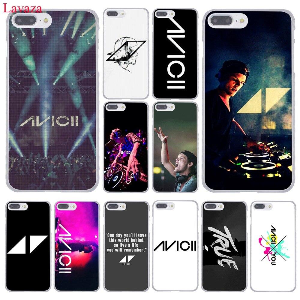 Lavaza Avicii DJ Tim Bergling Hard Coque Shell Phone Case for Apple iPhone 8 7 6 6S Plus X 10 5 5S SE 5C 4 4S Cover