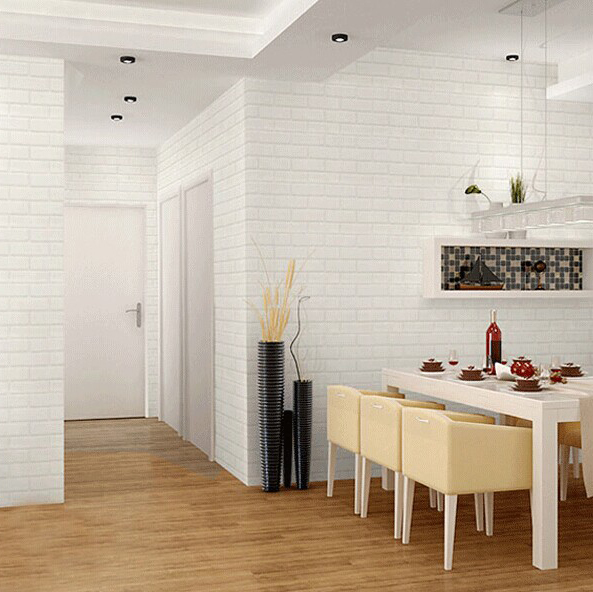 Rolling Paper Size Picture More Detailed Picture About Modern D - 3d brick wallpaper living room