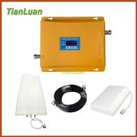 LCD Display 3G W CDMA 2100MHz 2G GSM 900Mhz Dual Band Mobile Phone Signal Booster GSM