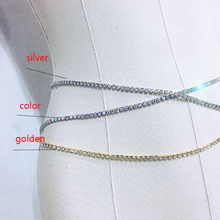 Crystal Gold Sexy Women's Belly Waist Chain