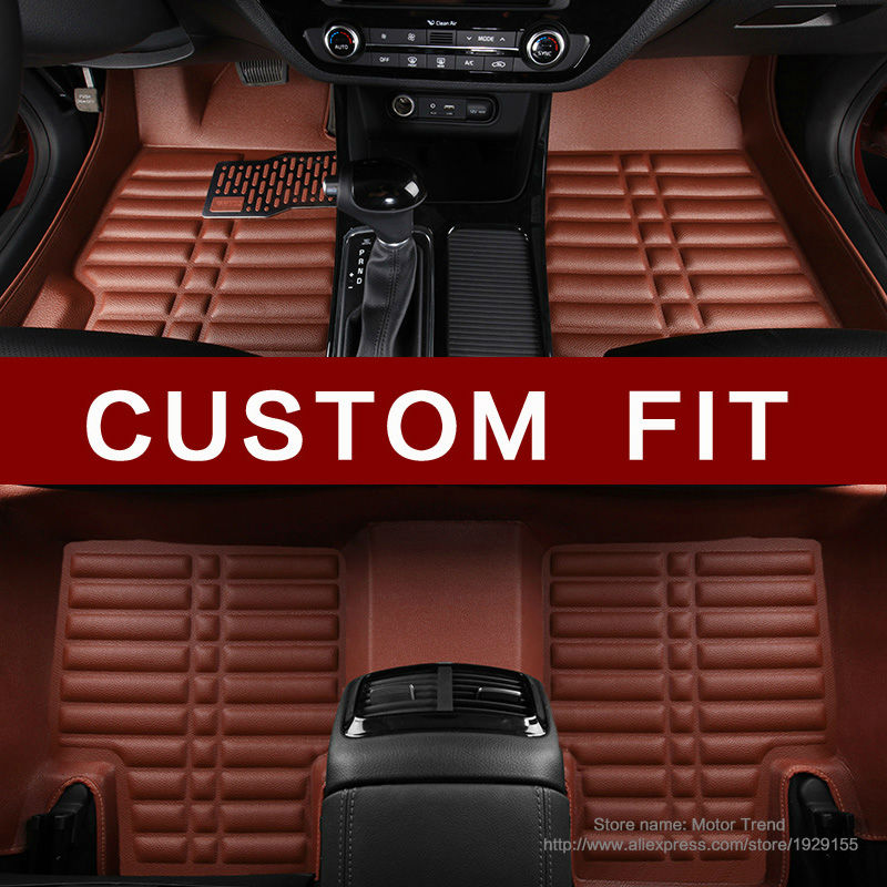 Custom fit car floor mats for Mazda 3/6/2 CX-7 CX-5 3D car-styling heavy duty all weather protection carpet floor liner RY156 for mazda cx 5 cx5 2nd gen 2017 2018 interior custom car styling waterproof full set trunk cargo liner mats tray protector