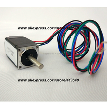 FREE SHIPPING Nema8 (20x33mm)  stepper motor model 8HS13-0604S 1.8 deg 0.6 A  2 N.cm with bipolar and 4 lead wires