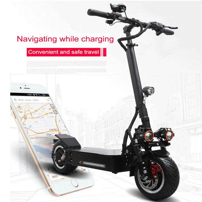 Scooter électrique maximum de 3200 W 60 V 65-80 KM 60 V 30A batterie au lithium de Samsung puissant scooter électrique pliant de vélo électrique