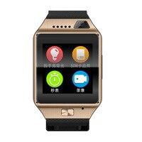 ใหม่G9ปรับปรุงสมาร์ทนาฬิกาGV08S 1.5นิ้วกล้องสนับสนุนซิมบัตรบลูทูธpedometerสำหรับโทรศัพท์a ndroid smartwatch pk gv18 a9 u8